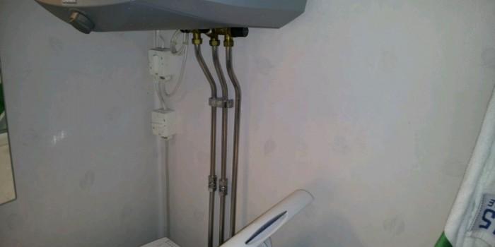 Inkoppling av tvättmaskin och varmvattenberedare