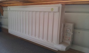 Installering och montering av elradiator, element, och elelement.