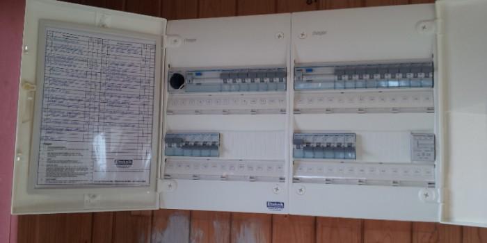 Byte av elcentral (proppskåp)
