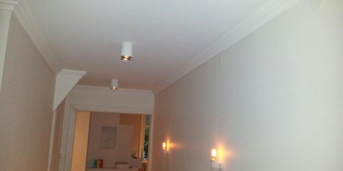 Stämningsfull belysning i en hall
