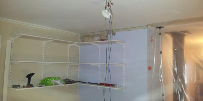 Rivning av vägg