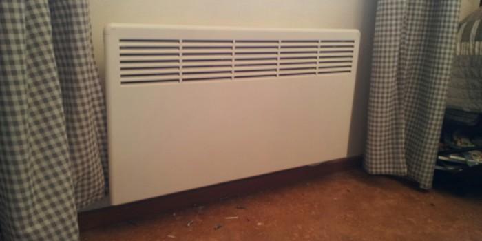 Byte av elradiatorer