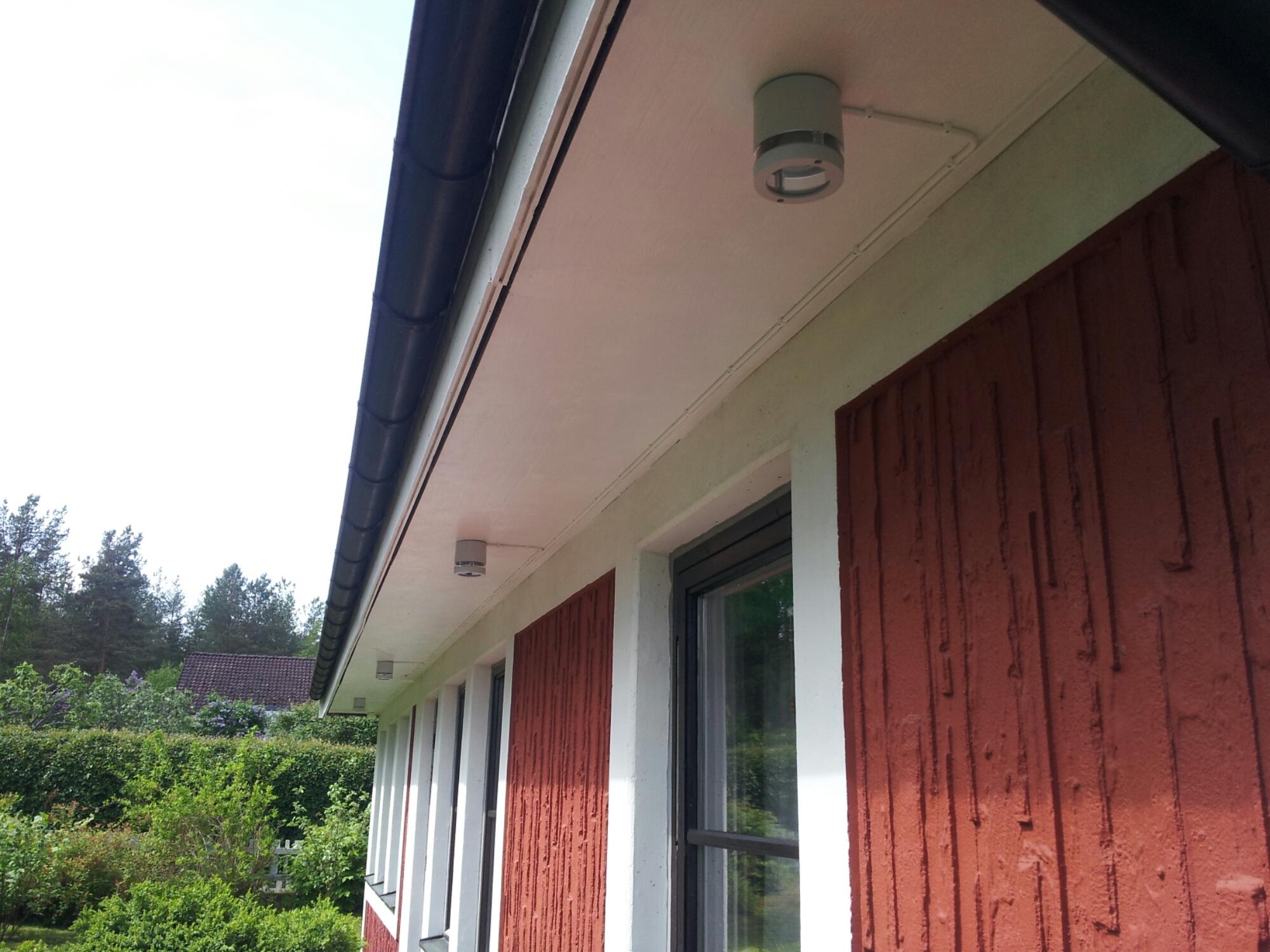 fasadbelysning led takfot