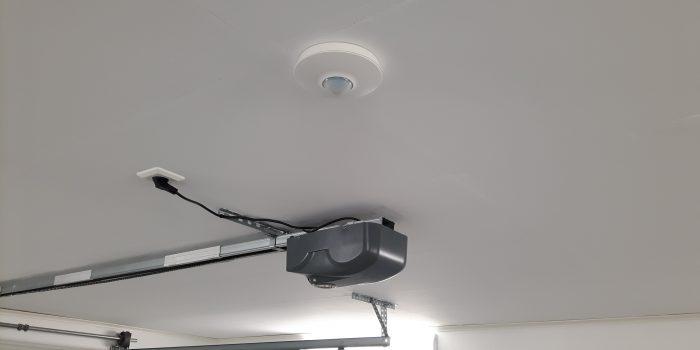 Rörelsedetektor i garage